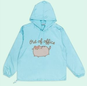 NWT Pusheen Box Exclusive Pull Over Windbreaker!🐱